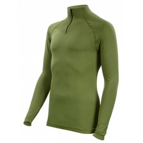 Tee-shirt Technical Line vert OD Col Rond - Summit Outdoor