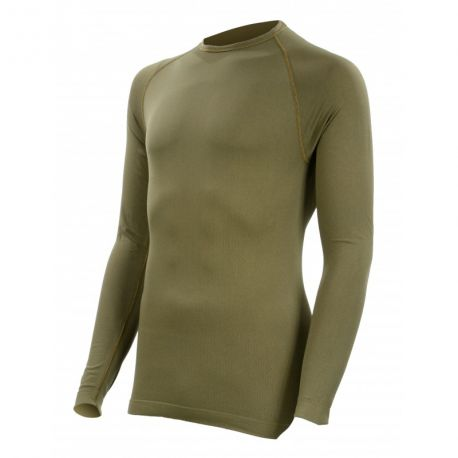 2c089c8bffa1 T-shirt Technical Line Col rond Coyote Summit Outdoor VETSECURITE.com