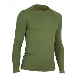 Tee-Shirt Active Line vert OD manches longues - Summit Outdoor