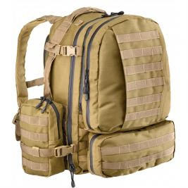 Sac Full Modular MOLLE 60L Coyote - Defcon 5