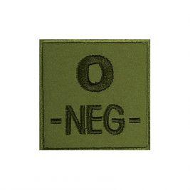 Insigne O- de groupe sanguin Kaki - TOE Pro