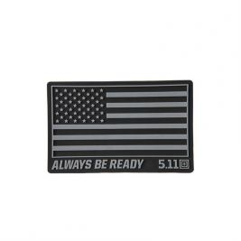Patch PVC USA Noir - 5.11 Tactical