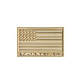 Patch PVC USA coyote - 5.11 Tactical