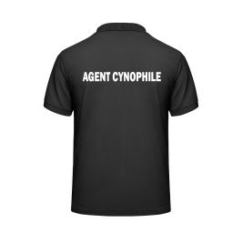 Polo AGENT CYNOPHILE noir - Vetsecurite