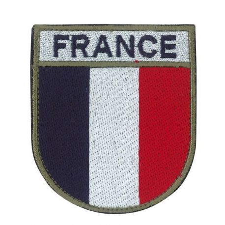 Écusson de bras FRANCE Brodé - TOE