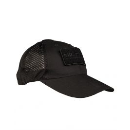 Casquette Base-Ball filet Noir - Miltec