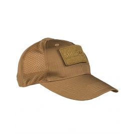 Casquette Base-Ball filet Coyote - Miltec