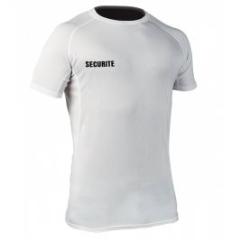 Tee-shirt respirant Challenger Securite Blanc - TOE