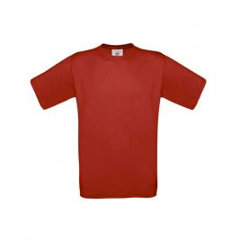 Tee-shirt manches courtes Rouge - B&C