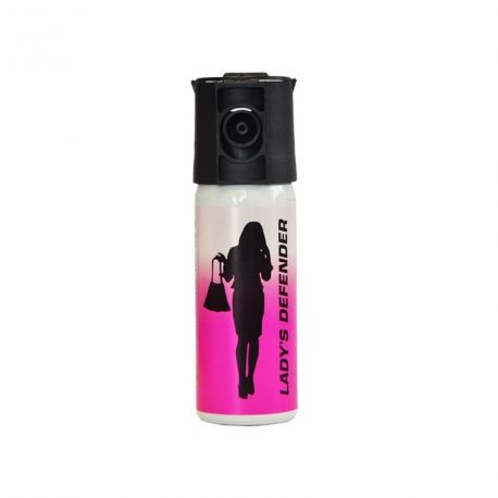 Aérosol LADY'S DEFENDER gaz CS 50 ML - Le Protecteur