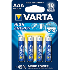 Piles AAA High Energy - Varta