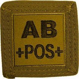 Support MOLLE auto-agrippant 5 x 5 cm Coyote - TOE