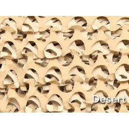 Filet Camouflage Pro Crazy Desert 2,4m x 6m - CamoSystems