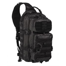 Sac Assault One Strap Tactical 29L Noir - Miltec