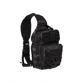 Sacoche Assault One Strap Tactical 10L Noir - Miltec
