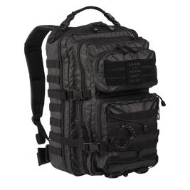 Sac à dos US ASS. PACK Tactical Black 36L Noir - Miltec
