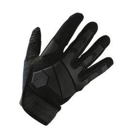 Gants d'intervention Alpha Noir - Kombat Tactical