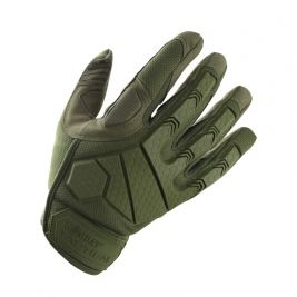 Gants d'intervention Alpha Vert OD - Kombat Tactical