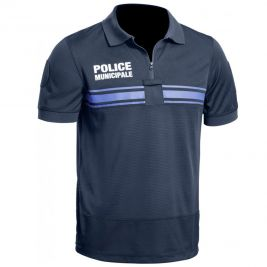 Polo Police Municipale GPB P.M. ONE bleu - TOE
