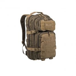 Sac à dos US Assault Pack SM vert/coyote - Miltec