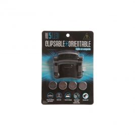 Lampe clipsable 5 led orientable - Ares