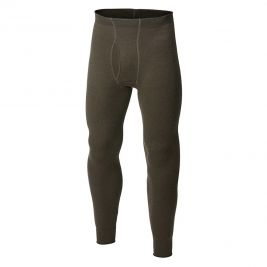 Collant long avec zip Johns 200 vert - Woolpower