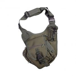 Sacoche tactical soulder 7 L vert olive - Summit Outdoor