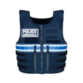 Gilet pare-balles IIIA Full Tactical Police Municipale Femme - Le Protecteur