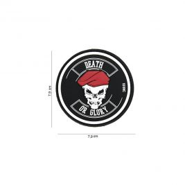 "Patch 3D en PVC ""Death or Glory"" - Van OS Imports B.V."