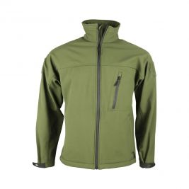 Veste Softshell Trooper Tactical vert olive - Kombat Tactical