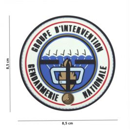 Patch 3D en PVC groupe d'intervention - 101 Inc
