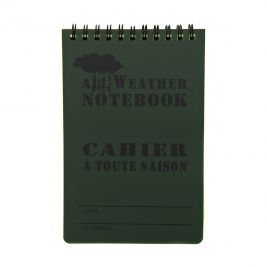 Carnet de notes waterproof - grand format - Fosco Industries