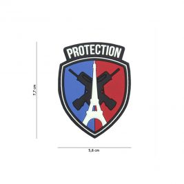 Patch blason protection en PVC - 101 Inc