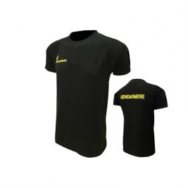 Tee-Shirt Gendarmerie Mobile noir - Summit Outdoor