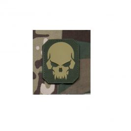 Patch moral crâne de pirate multicam en PVC - Mil-Spec