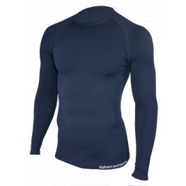 Tee-Shirt Thermorégulant Technical Line Bleu Marine - Summit Outdoor