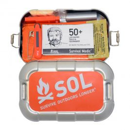 Kit de survie boîte alu Traverse - SOL