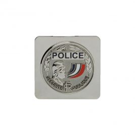 Médaille Police Nationale à support carré - GK Pro