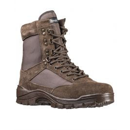 Chaussures Tactical Zip marron - Miltec