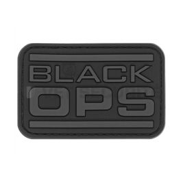 Patch rectangulaire Black OPS Noir - JTG