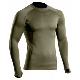 Tee-shirt Thermo Performer vert OD Niveau 2 - TOE