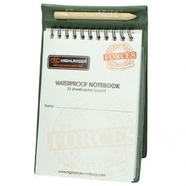 Carnet de notes waterproof 11 x 18 cm - Highlander