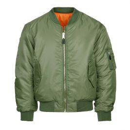 Veste bomber aviation MA-I Vert - Fostex Garments