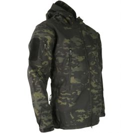 Veste Softshell Patriot Tactical Dark Camo - Kombat Tactical