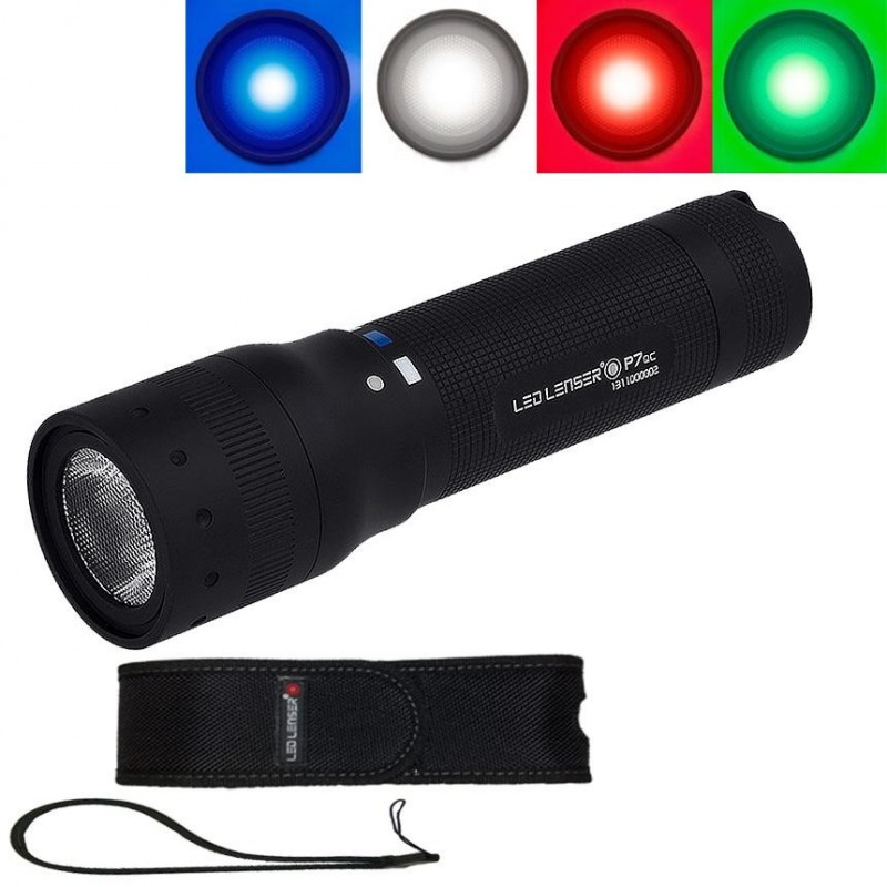 la lampe torche led lenser p7qc est disponible en livraison gratuite sur la boutique en ligne. Black Bedroom Furniture Sets. Home Design Ideas