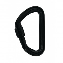 Mousqueton Spirit screw-lock noir - Petzl
