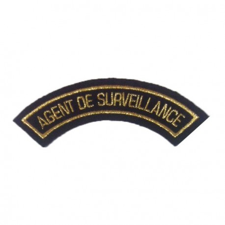 Badge AGENT DE SURVEILLANCE