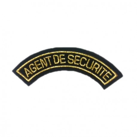 Badge AGENT DE SECURITE
