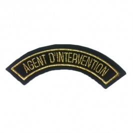 Badge AGENT D'INTERVENTION