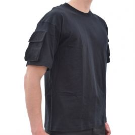 Tee-shirt tactique noir - Miltec